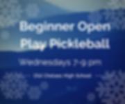 Beginner Open Play