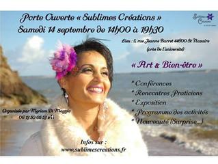 Portes ouvertes Sublimes créations samedi 14 septembre 14h-19h