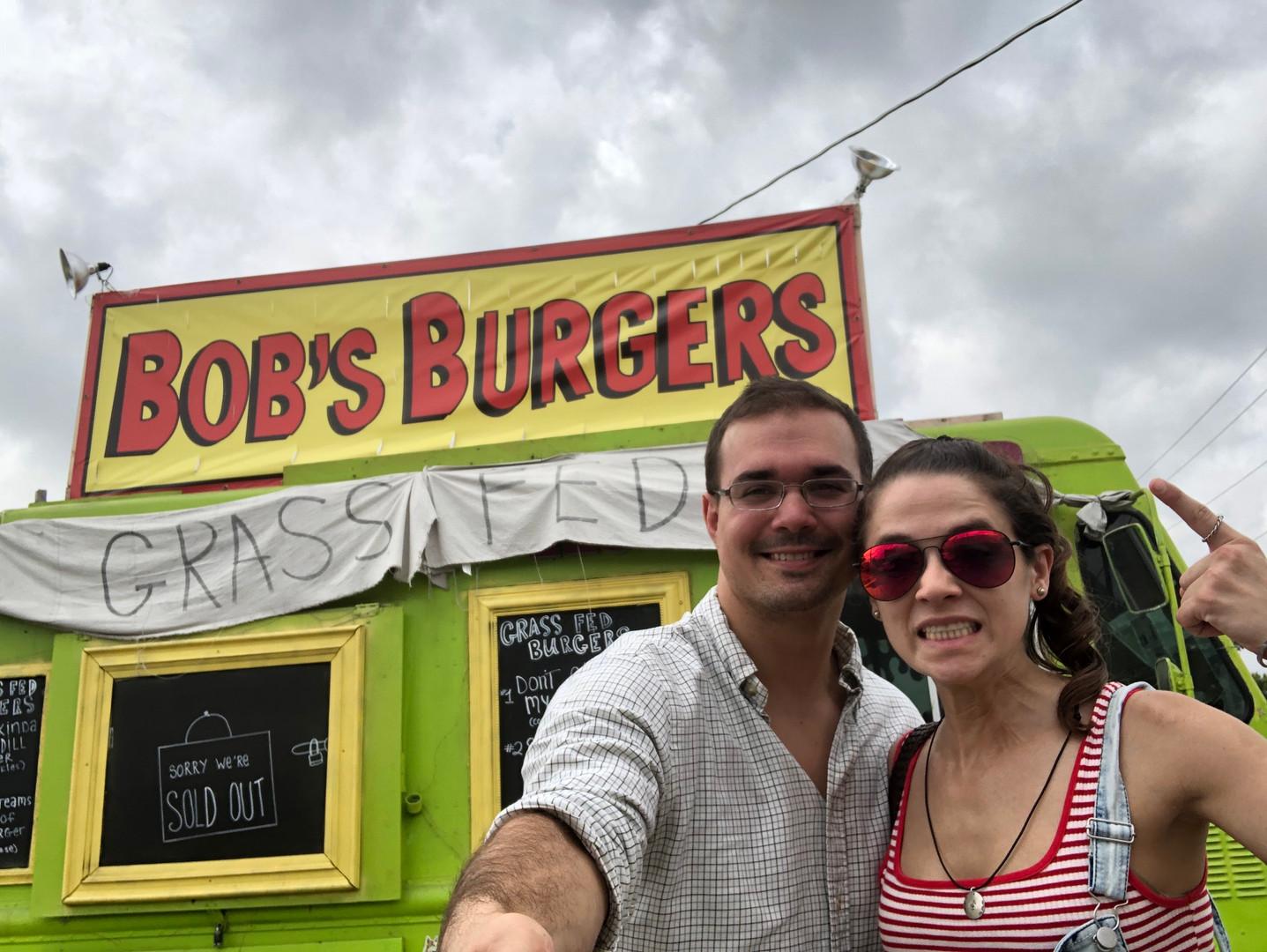 Bob's Burger's food truck in Austin