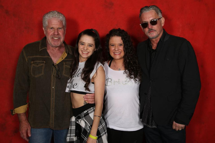 Ron Perlman and Tommy Flanagan