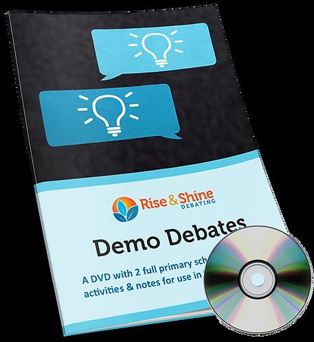 Demo Debates DVD & Teaching Activities