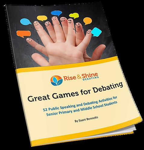 Great Games for Debating - Digital Version