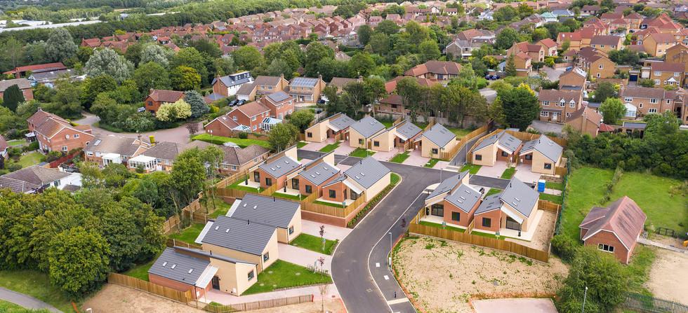 Rigg Construction New Bungalows, Shaw, Swindon - Catherine Fallon Operations