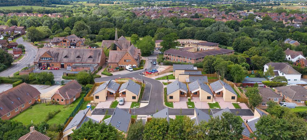 Rigg Construction New Bungalow Development, Shaw, Swindon - Catherine Fallon Operations