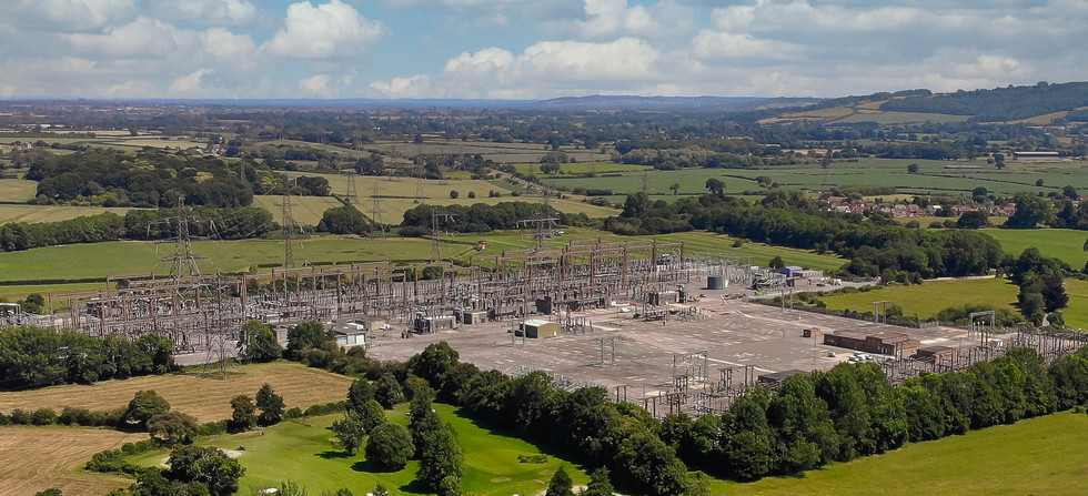 Electricity Grid Substation,  Melksham, Wiltshire - Catherine Fallon Operations