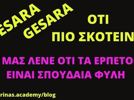 Nesara - Gesara = Ότι πιο σκοτεινό! Οι Q μας λένε ότι τα ερπετοειδή είναι σπουδαία φυλή