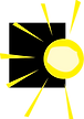 Anew Day Logo, Sun Only (Transparent) Re