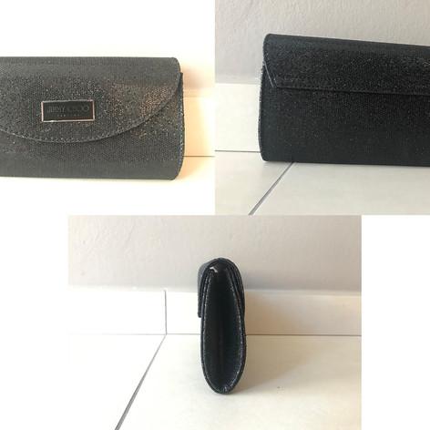 Jimmy Choo - mini clutch 20x10  prijs: 20€