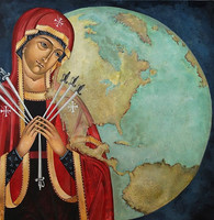 Mary of Swords icon