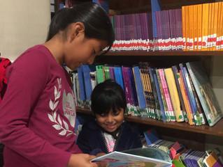 LA LECTURA ESTÁ ABRIENDO LA MENTE DE NIÑOS, JÓVENES Y ADULTOS. La Biblioteca del Centro Comunitario