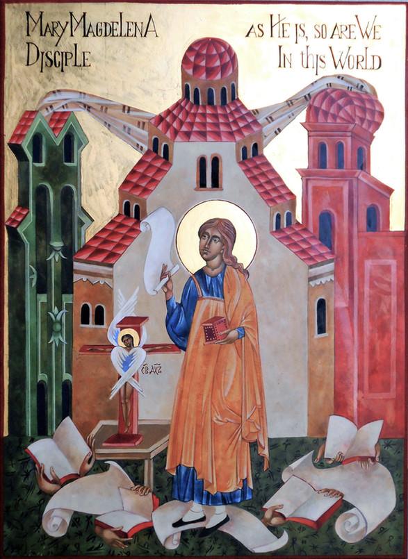 Mary Magdalene icon
