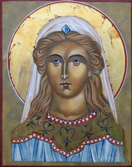 Young Mary of Magdala icon