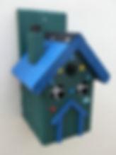 Pixie House Pine Green & Blue