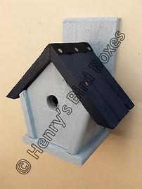 Penthouse Bird Box Pale Blue & Dark Blue