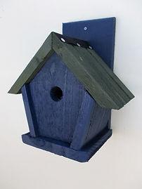 Penthouse Bird Box Dark Blue & Green