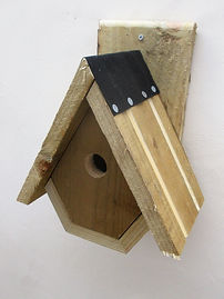 Alpine Bird Box Natural