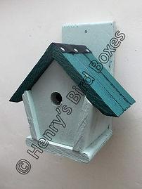 Penthouse Bird Box Pale Green & Pine Gre