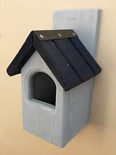 Classic Robin Bird Box Pale Blue & Dark