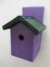 Chalet Bird Box Purple & Green.JPG