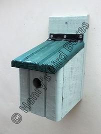 Basic Bird Box Pale Green & Pine Green.j