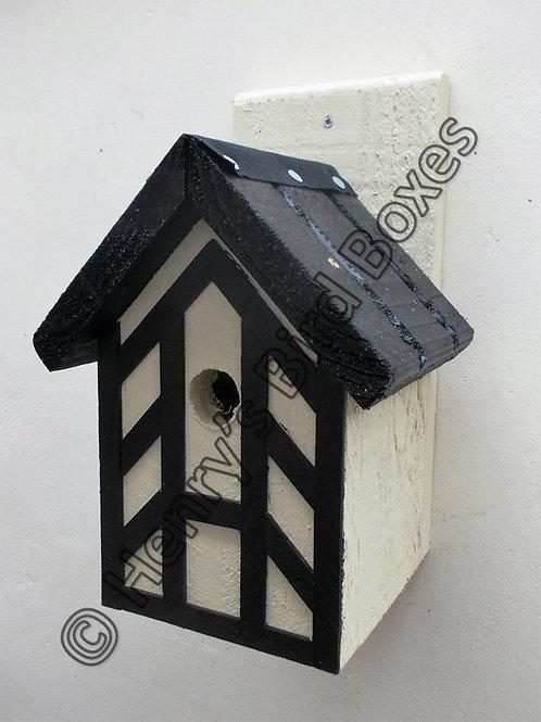 'Tudor' Bird Box - Various Colours