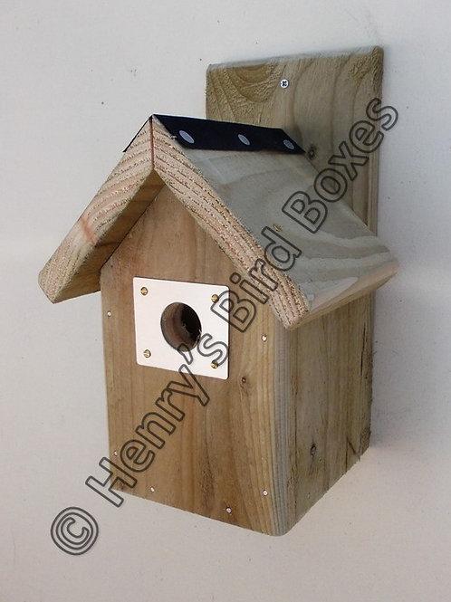 'Aluminium Entrance Guard' Bird Box - Multiple Designs