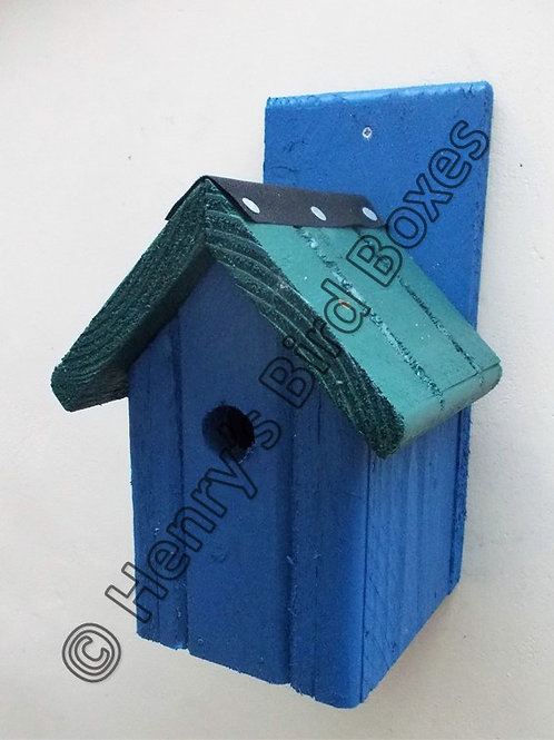 'Classic' Bird Box - Coloured Version