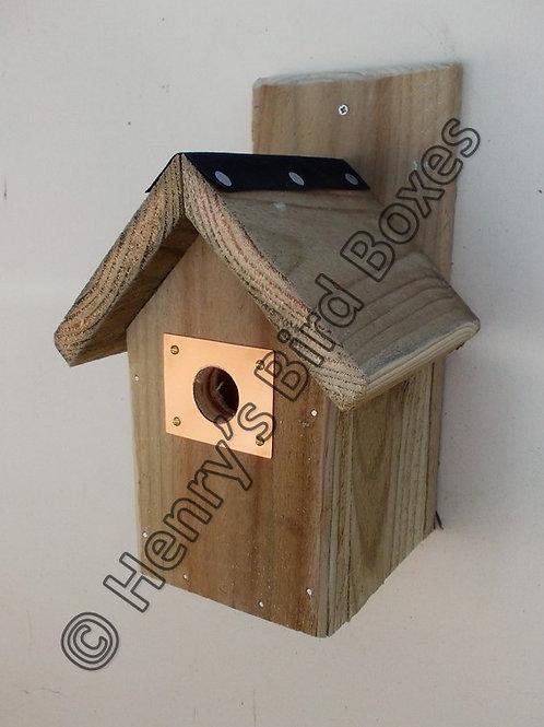 'Copper Entrance Guard' Bird Box - Multiple Designs