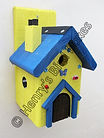 Fairy House Bird Box Yellow & Blue.jpg