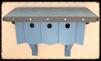 Sparrow Terrace Nest Box - Henry's Bird Boxes