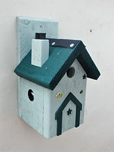 Pixie House Pale Green & Pine Green