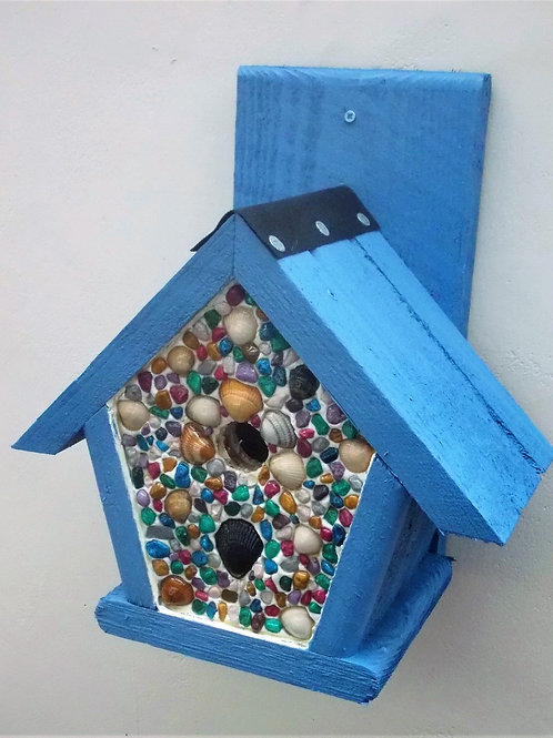 'Rainbow Seashore Penthouse' Bird Box