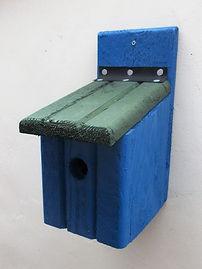 Basic Bird Box Blue & Green