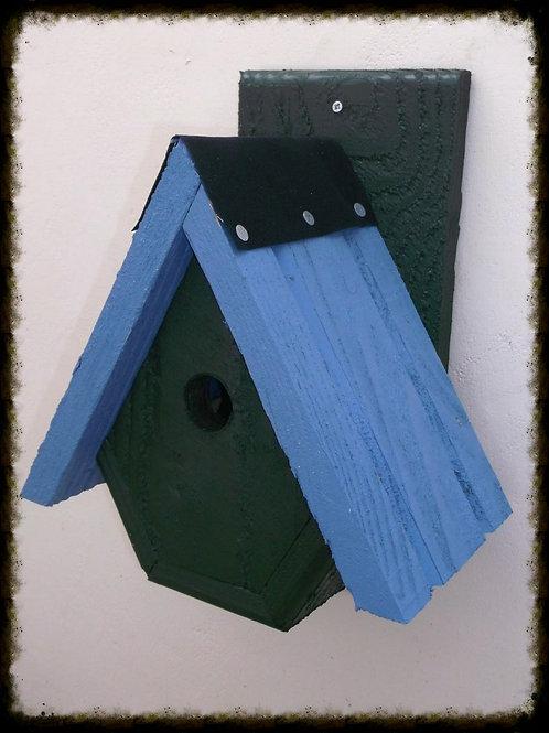 'Alpine' Bird Box - Coloured Version