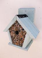 Pebbled Penthouse Bird Box Pale Green