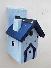Pixie House Pale Blue & Dark Blue