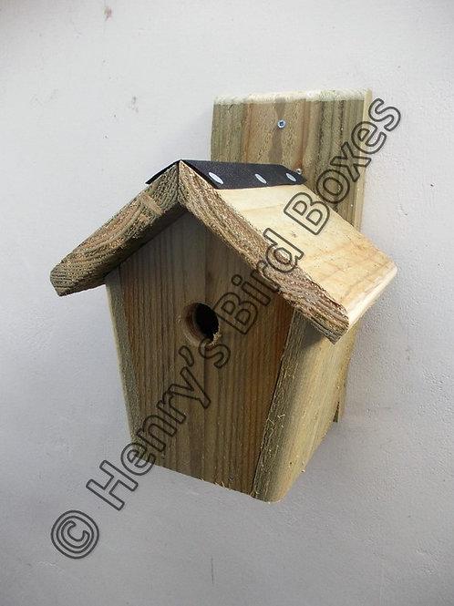 'Cottage' Bird Box - Natural Finish