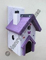 Fairy House Bird Box Lilac & Purple.jpg