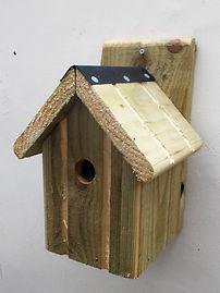 Classic Bird Box Natural
