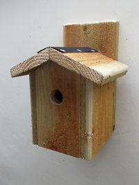 Chalet Bird Box Natural