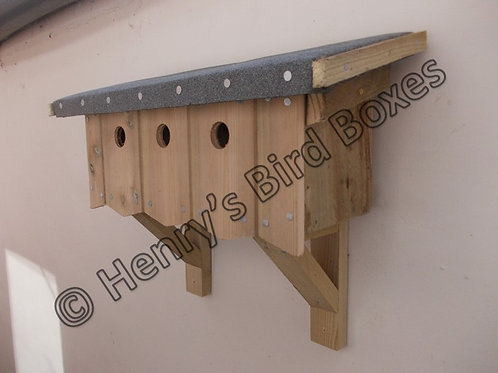 'Sparrow Terrace' Nesting Box