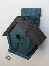 Penthouse Bird Box Pine Green & Brown.jp