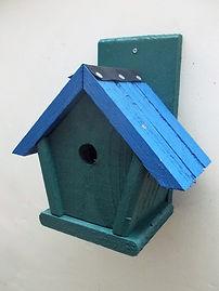 Penthouse Bird Box Pine Green & Blue