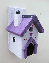 Fairy House Lilac & Purple