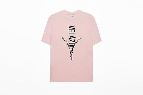 Camiseta Pink Zipper