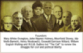 Founders of the NAACP