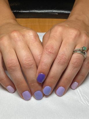 Gel Manicure - No Designs