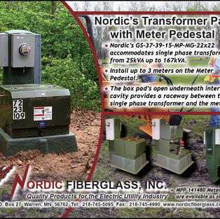 Nordic's Transformer Pad with Meter Pedestal