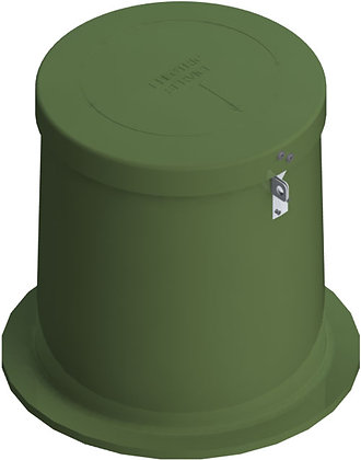 P-60-MG, INNER & OUTER BELL W/LID