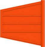 Flexi-Flag, Orange HDPE